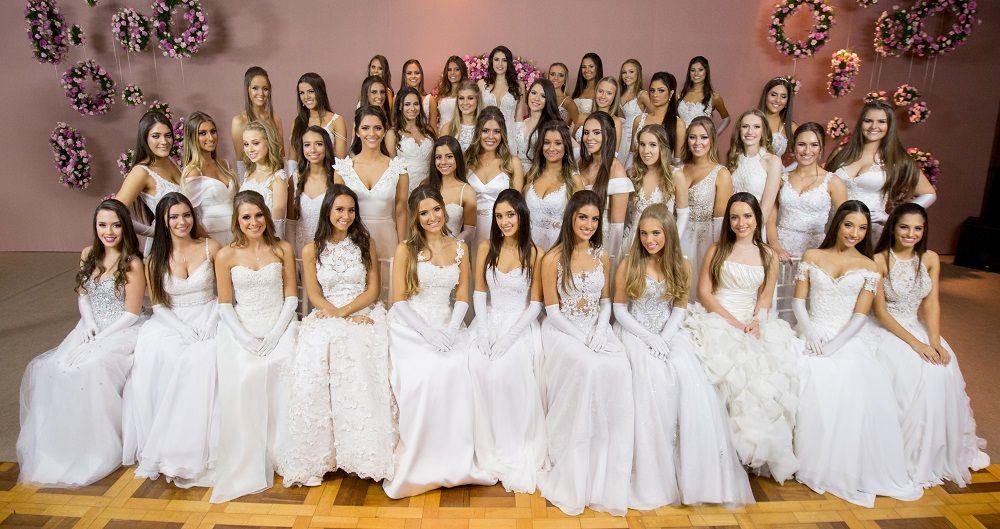 42 meninas debutaram na ALJ. Crédito: Silva's e Equipe Hunter Fotografias