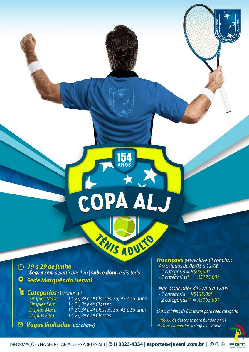 Copa ALJ 154 Anos de Tênis Adulto
