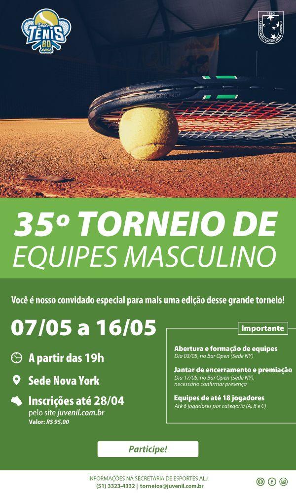 35º Torneio de Equipes Masculino