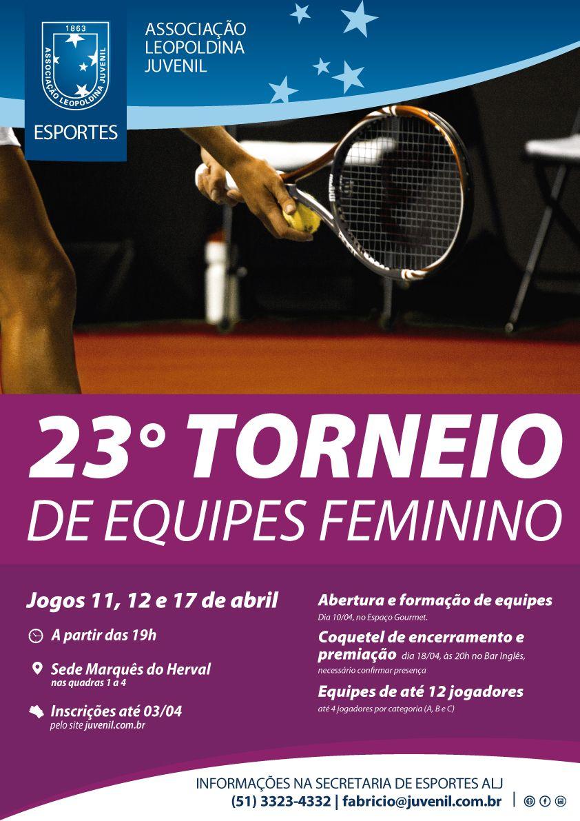 23º Torneio de Equipes Feminino