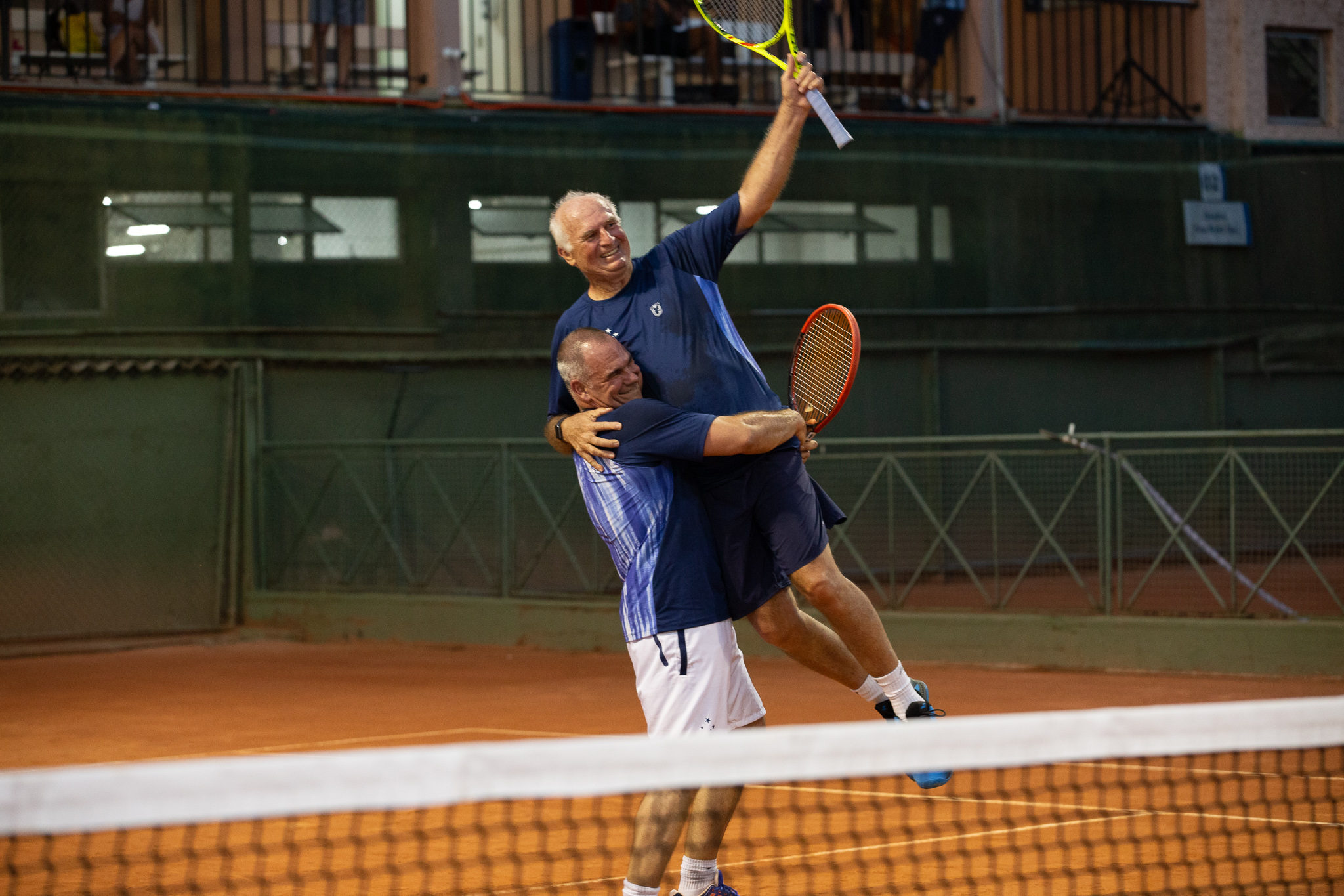 A paixão pelo esporte com os associados Gustavo Callefi e Thomaz Koch