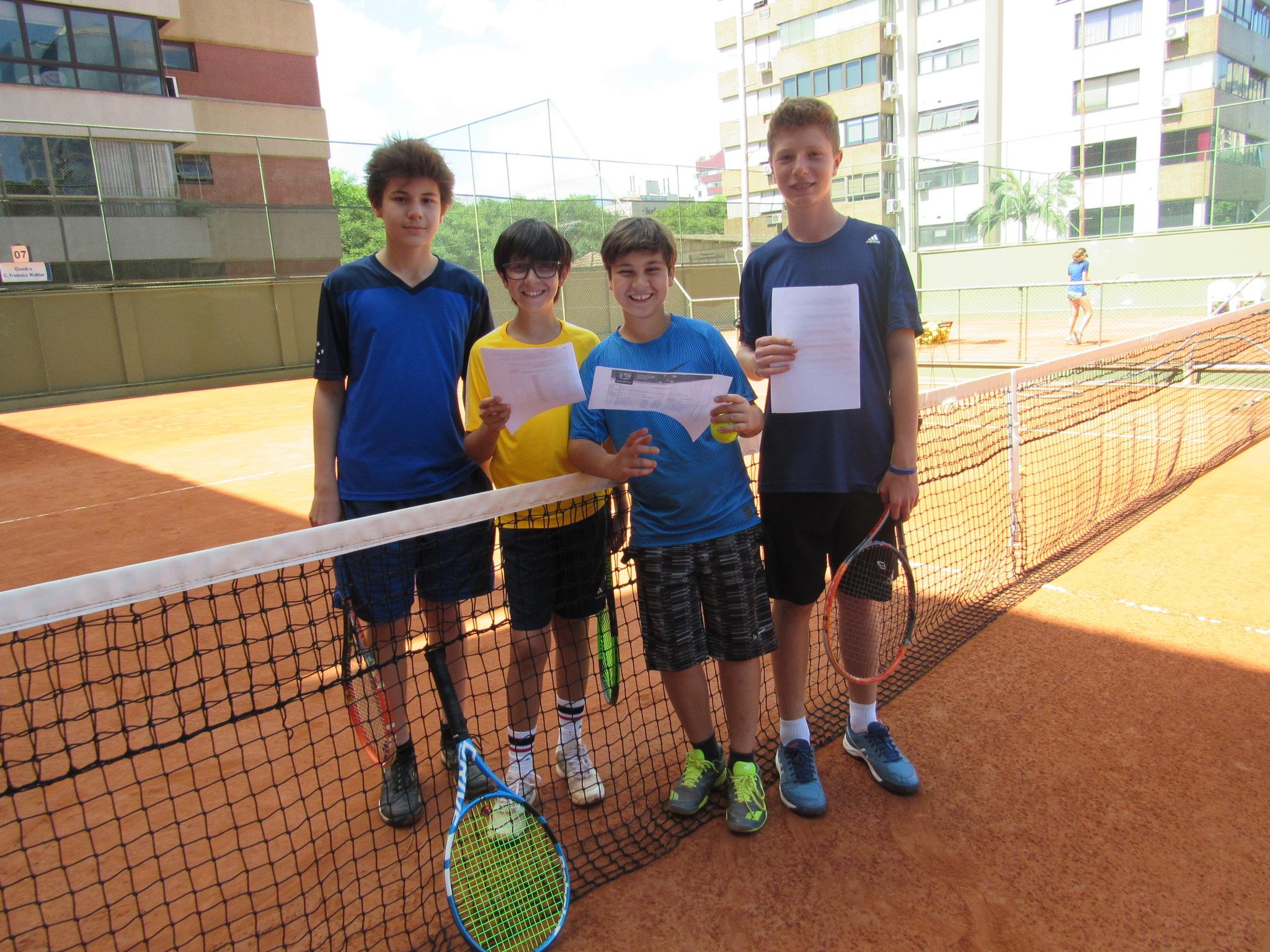 Alunos Escola de Tênis