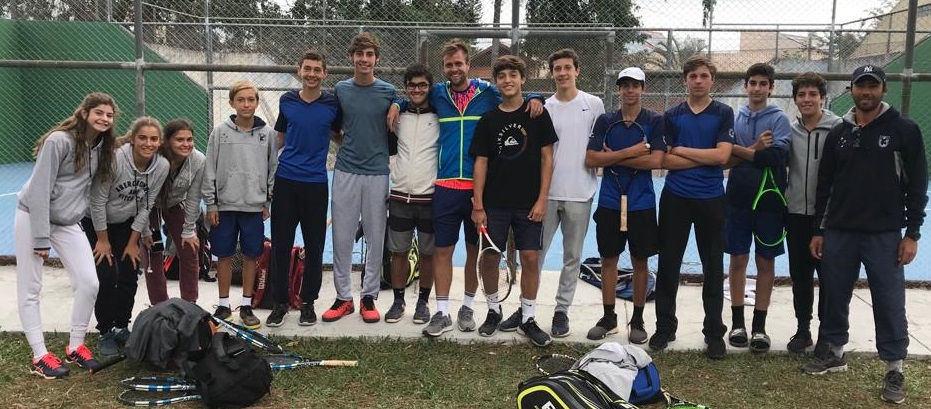 Atletas Equipe ALJ de Tênis