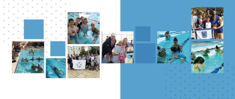 Boas lembranças das piscinas do Juvenil para vocês!