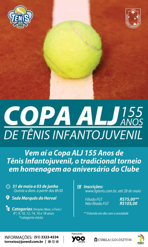 Copa ALJ 155 Anos de Tênis Infantojuvenil