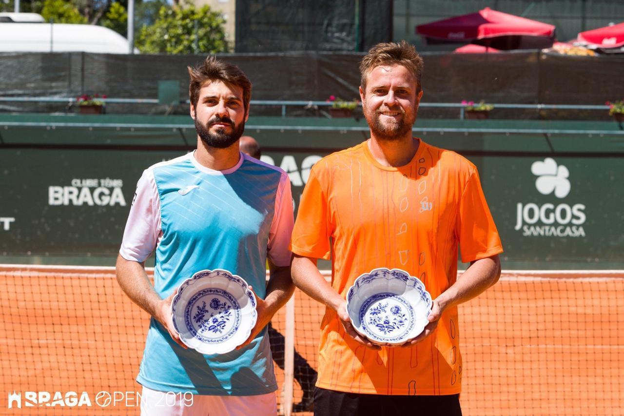 Da esquerda para direita: Gerard Granollers/Fabrício Neis