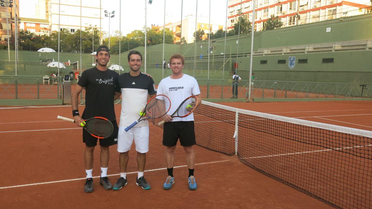 Da esquerda para direita, Guilherme Clezar, Eduardo Dischinger e Gustavo Guerses. Crédito: Comunicação ALJ