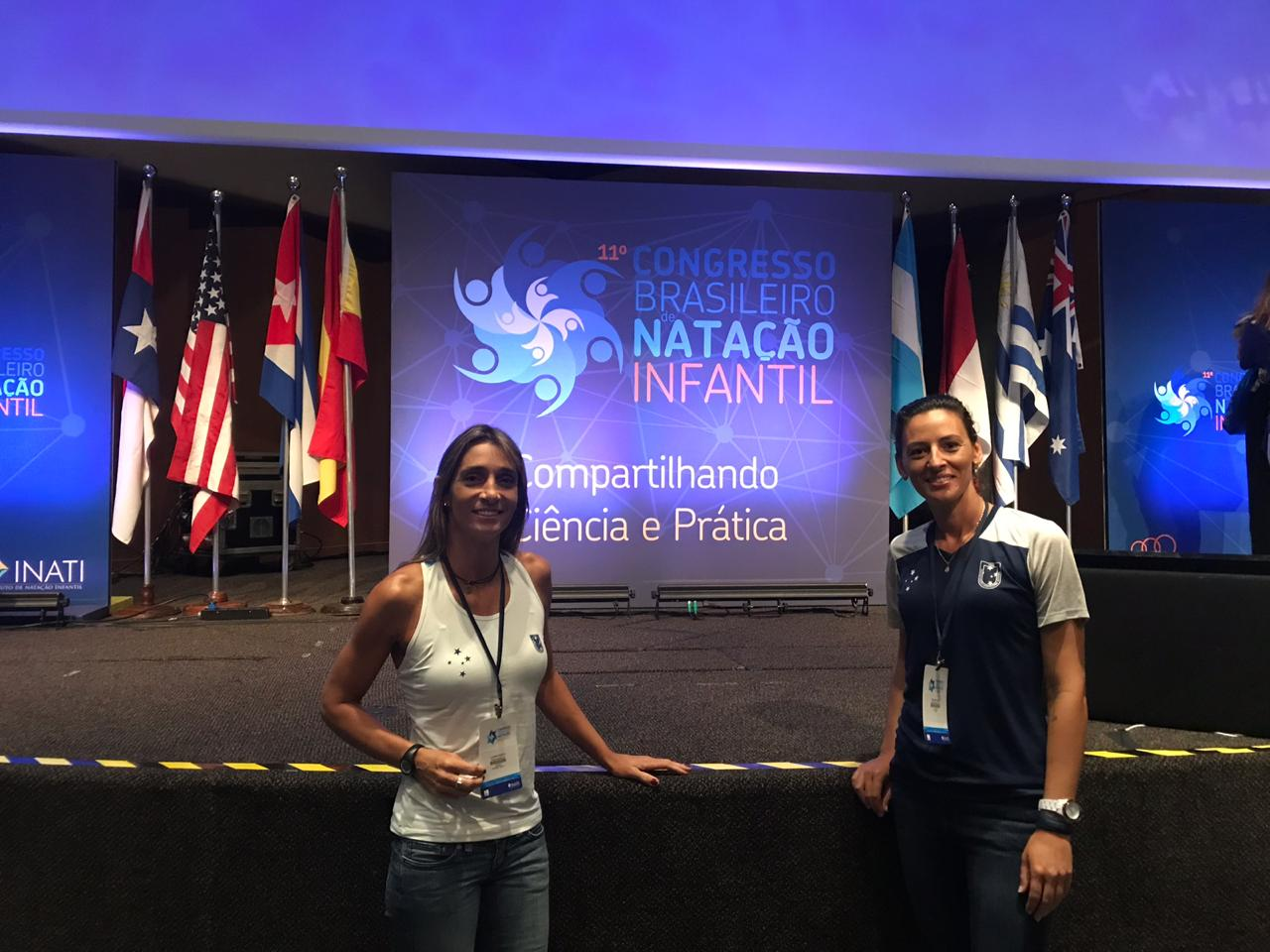 Da esquerda para direita: Luciana Pigatto / Fabiana Zago