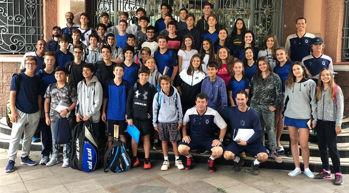 Equipe ALJ de Tênis Infantojuvenil