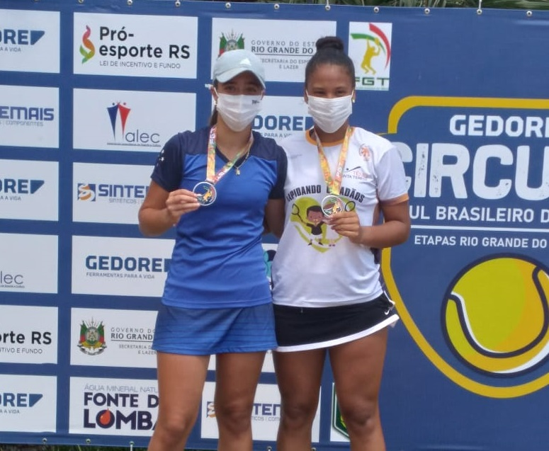 Isabella Silveira e Antonella Xavier