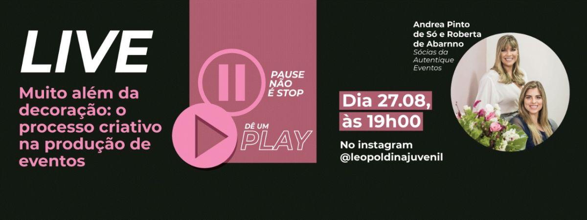 Live no Instagram @leopoldinajuvenil