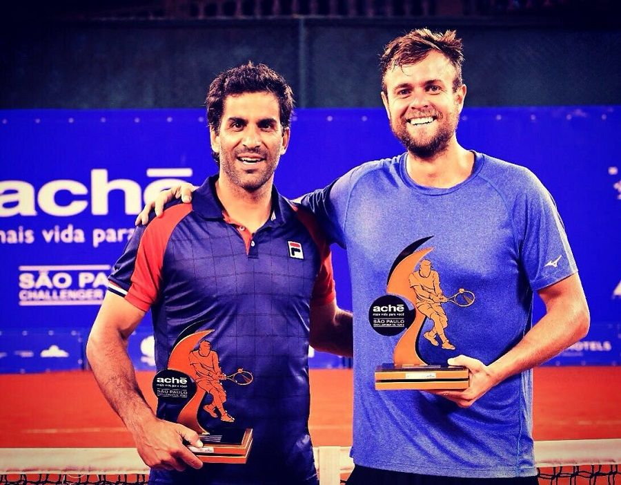Máximo Gonzalez (esq.) e Fabrício Neis (dir.). Crédito João Pires/Instituto Sports
