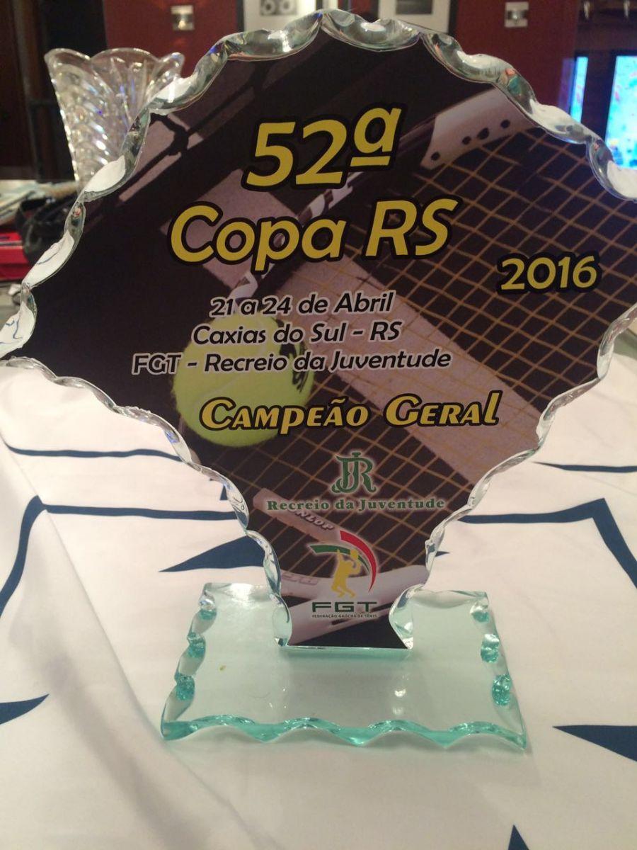 Na Copa RS 2016, a Associação Leopoldina Juvenil foi o grande clube campeão da competição. Crédito: Divulgação ALJ