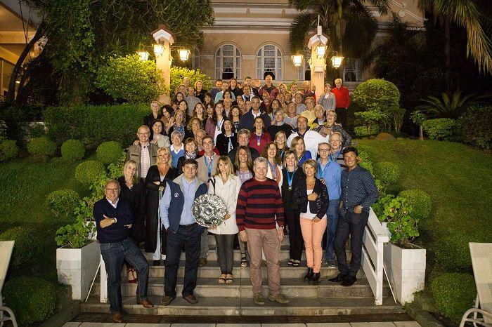 No ano passado, a ALJ recebeu os atletas do Carrasco Lawn Tennis Club. Crédito: Equipe Nattan Carvalho/Arquivo.