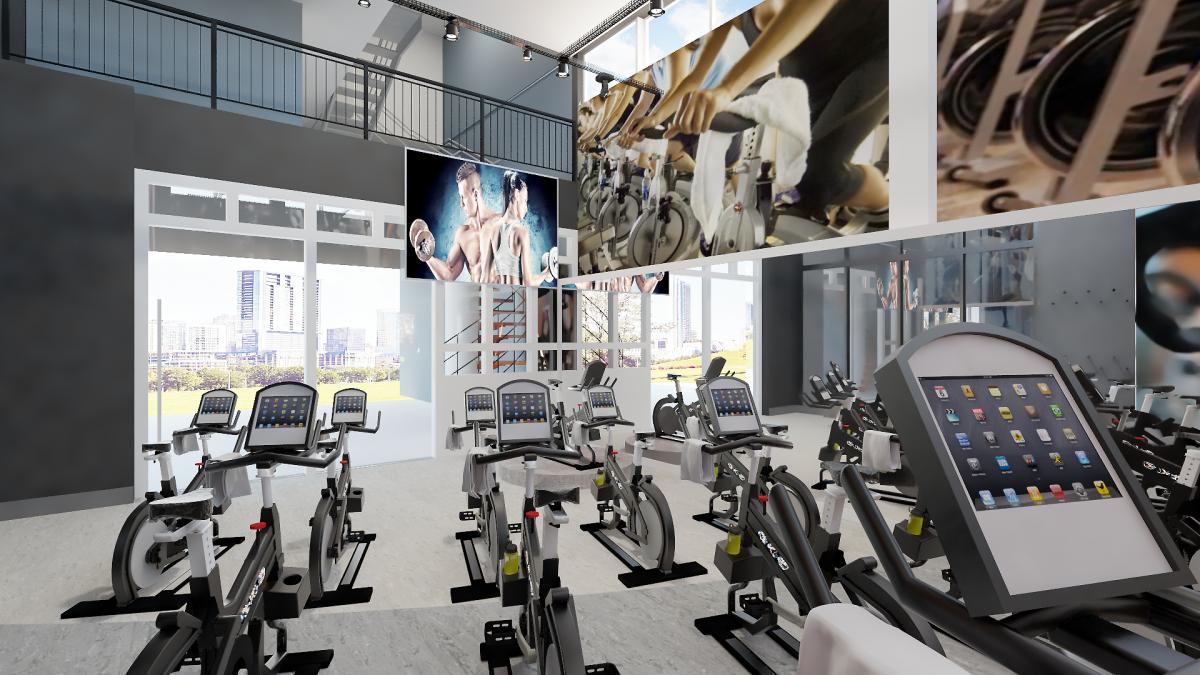 No retorno, vamos ter as melhores salas de Bike Indoor para nossos alunos