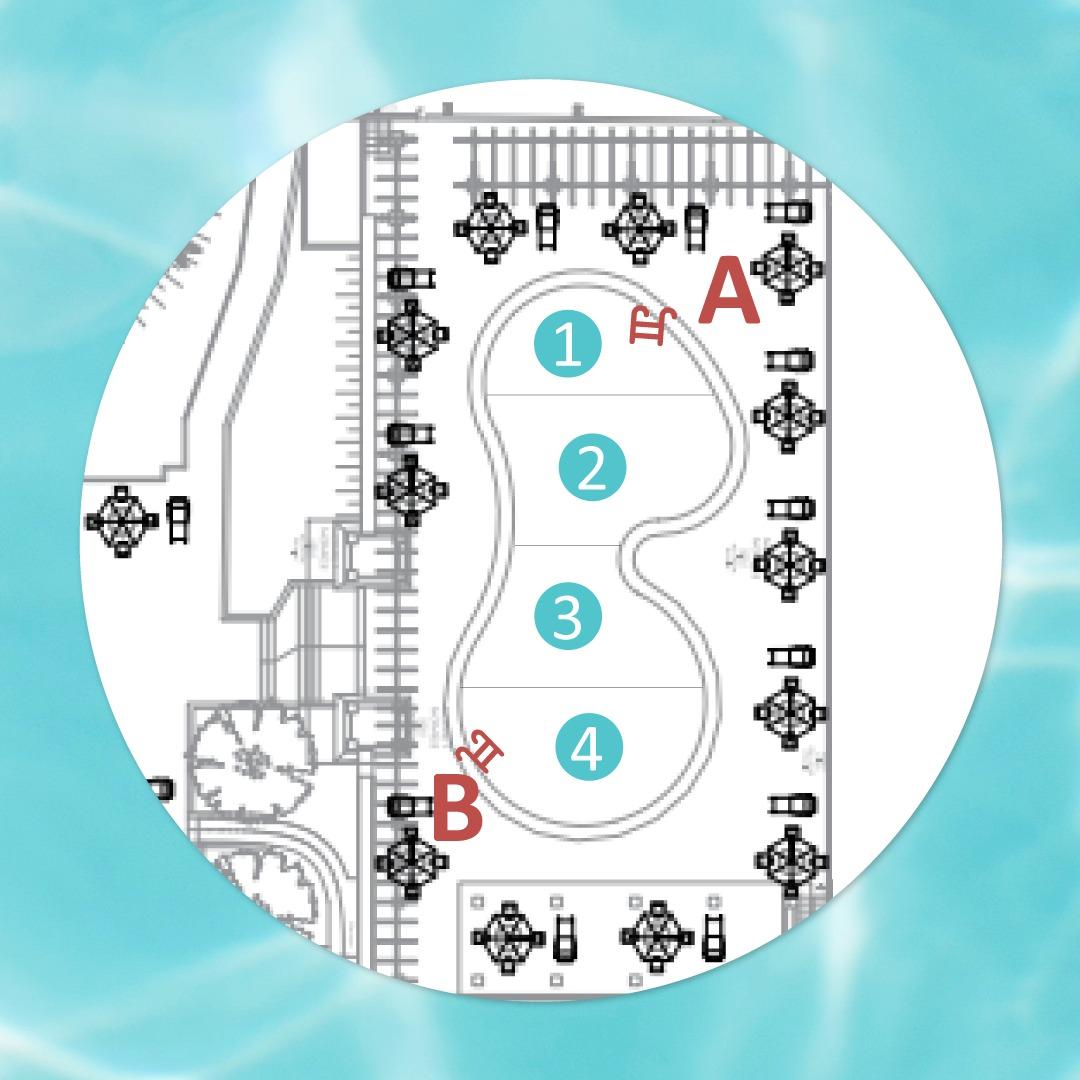 Quer curtir as piscinas do Seu Clube? Então fique atento(a) e cumpra as regras de uso: