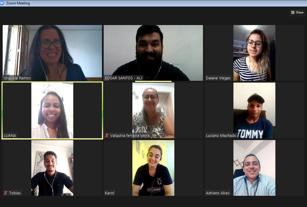Reunião de posse ocorreu via aplicativo de vídeo