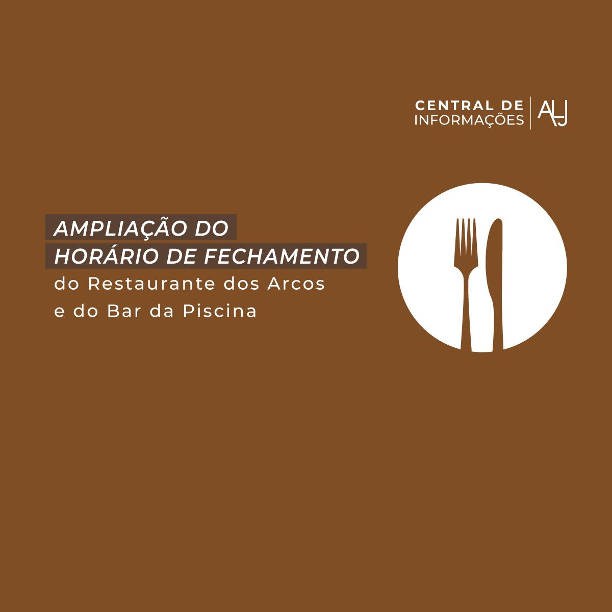 Segurança e boa gastronomia nos restaurantes do Juvenil