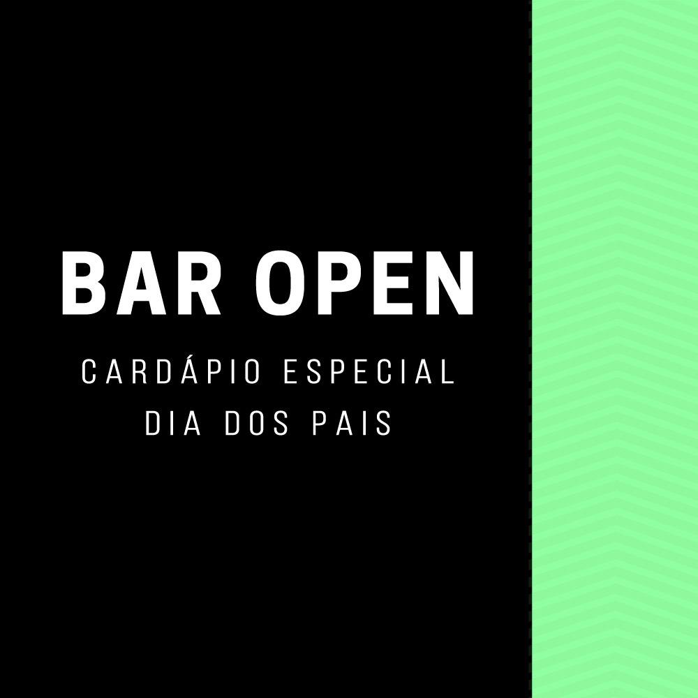 Veja o cardápio do Bar Open para o Dia dos Pais