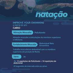 13 - Improve Your Swimming - Níveis AP2 e AP3