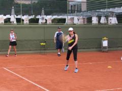 Associadas participaram de Clínica do Tênis Feminino na ALJ