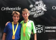 Atletas da Equipe ALJ de Tênis garantem premiação no 49º Banana Bowl