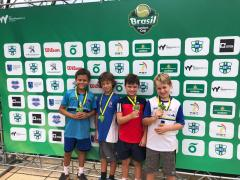 Atletas da Equipe ALJ de Tênis marcam presença no Brasil Juniors Cup