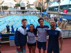 Atletas da Equipe de Natação ALJ no Campeonato Brasileiro Juvenil de Natação