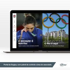 Case de Sucesso: Portal da Sogipa, com uma área exclusiva para associados.