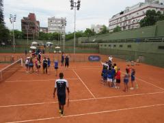 Clínica do Tênis com Academy Rafa Nadal