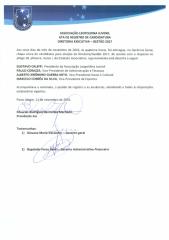 Candidatos à Diretoria Executiva - Gestão 2017