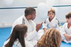 Troca de graduação Escola de Judô