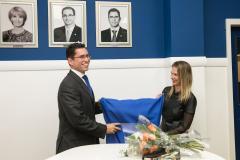 Descerramento foto ex-presidente Eduardo Rodrigues de Freitas Machado