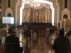 Inauguração da foto de Marcelo Corrêa da Silva na Galeria de Ex-Presidentes