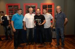Jantar de Encerramento e Premiação Ranking Masculino de Simples