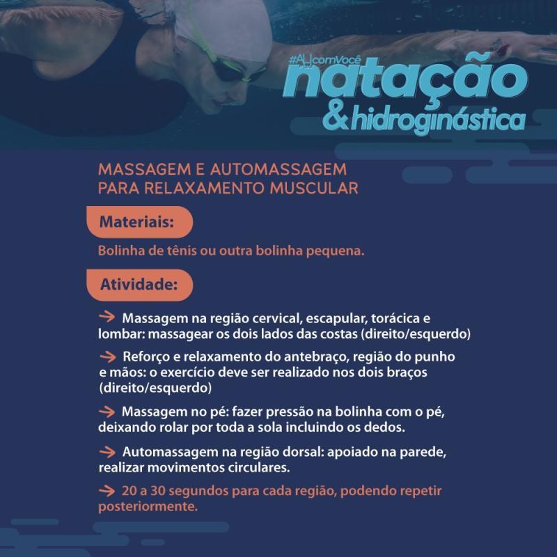 Natação #ALJcomVocê - #10