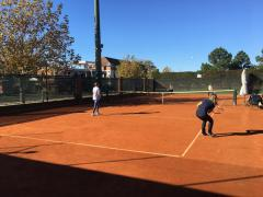 No Uruguai, associados ALJ são recebidos em intercâmbio com o Carrasco Lawn Tennis