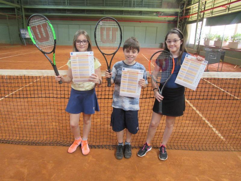Semana de aulas demonstrativas e entrega de avaliações da escola de tênis ALJ 2° semestre