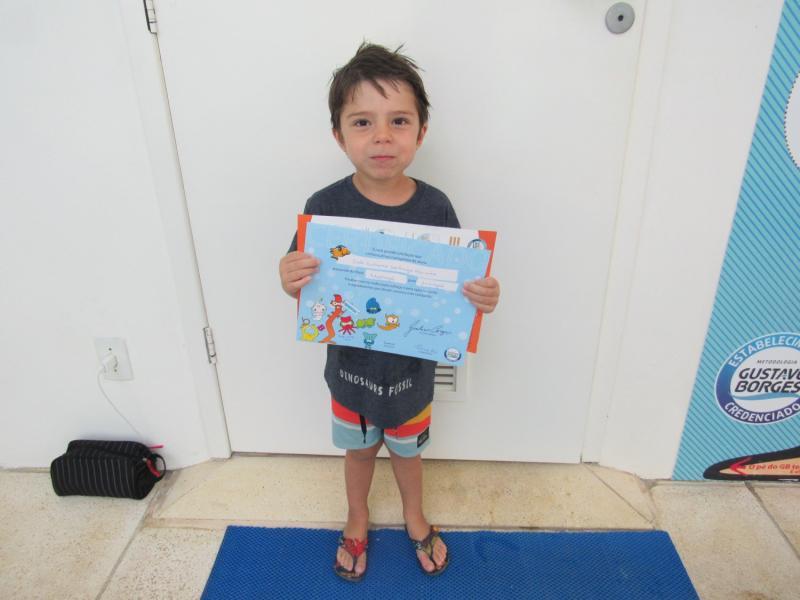 Semana Demonstrativa e Entrega de Avaliações Escola de Natação