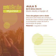 Websérie Tênis - Aula  5 - Níveis Adulto e Equipe Jr.