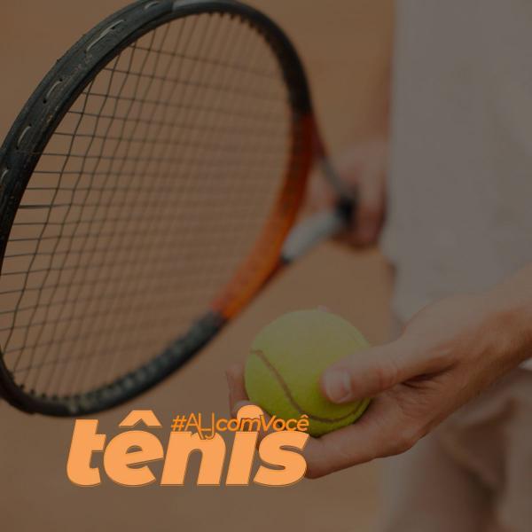 Tênis #ALJcomVocê: acesse as atividades