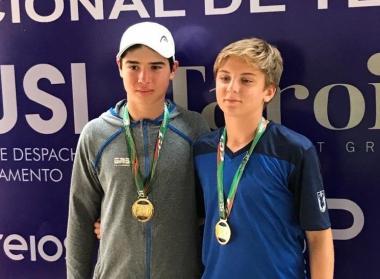 Copa Santa Catarina Internacional de Tênis tem conquista do Juvenil