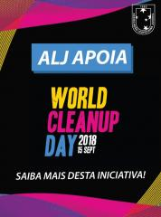 Juvenil apoia o projeto ambiental World Clean UP Day 2018