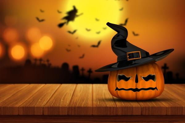 Clima de Halloween no Tênis ALJ e no Studio do Brinquedo