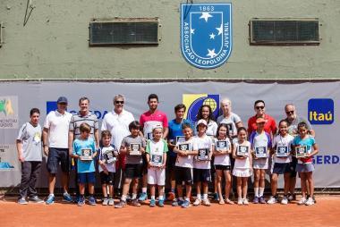 Campeonato Internacional Juvenil de Tênis de Porto Alegre termina com representantes da ALJ em destaque