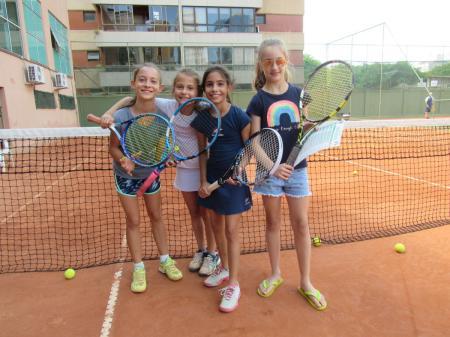 Semana de Aulas Demonstrativas e Entrega de Avaliações da Escola de Tênis ALJ