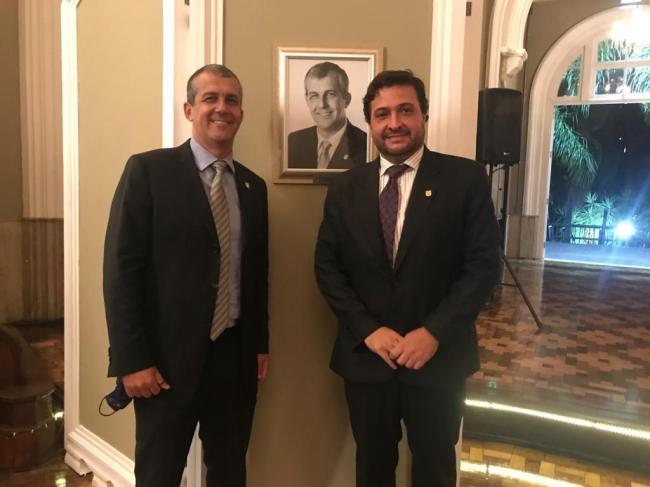 ALJ inaugura foto de Marcelo Corrêa da Silva na Galeria de Ex-Presidentes