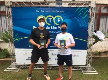 ITF de São Bernardo do Campo tem tenistas ALJ no alto do pódio