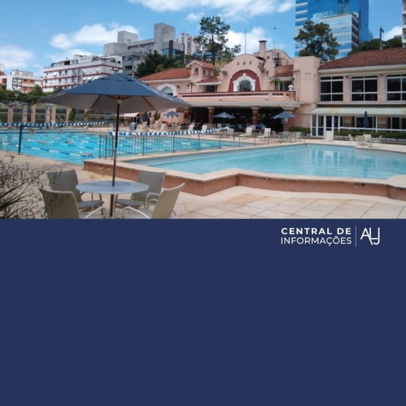 Liberação das piscinas para lazer