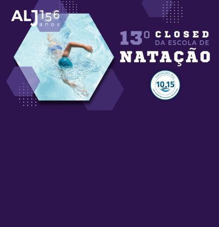 13º Closed da Escola de Natação ALJ reúne alunos, familiares e professores